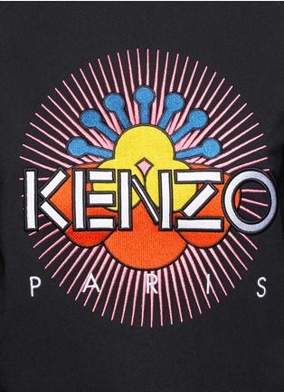 Detail View - Click To Enlarge - KENZO - 'Nagai Star' embroidery sweatshirt