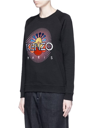 Front View - Click To Enlarge - KENZO - 'Nagai Star' embroidery sweatshirt