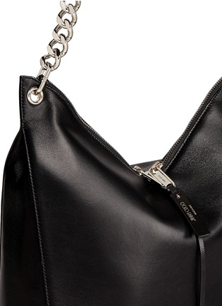 Detail View - Click To Enlarge - Jimmy Choo - 'Raven' large leather shoulder bag