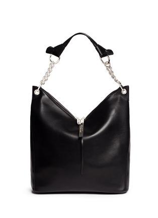 Jimmy Choo-'Raven' large leather shoulder bag