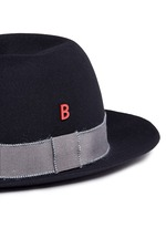 'Traveller' mohair band rabbit furfelt hat