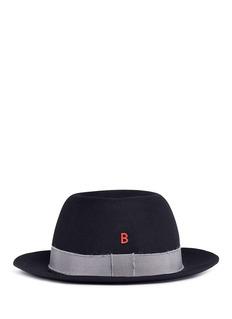 My Bob'Traveller' mohair band rabbit furfelt hat