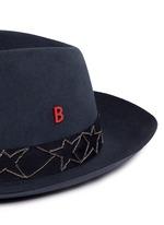 'Tribeca' Russian star chain band furfelt hat