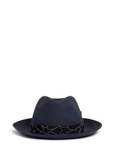 My Bob'Tribeca' Russian star chain band furfelt hat