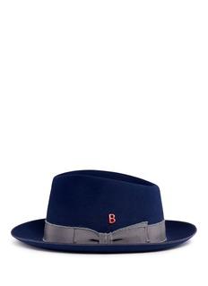 My Bob'Knut Whip' mohair ribbon rabbit furfelt hat