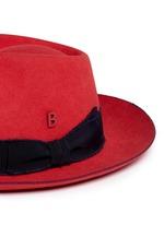 'Knut Whip' rabbit furfelt hat