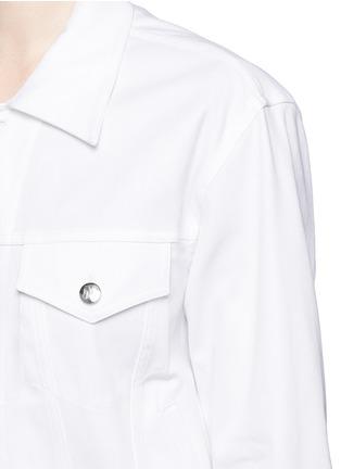 细节 - 点击放大 - NICOPANDA - 背部镂空设计牛仔夹克
