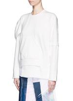 Deconstructed sweatshirt