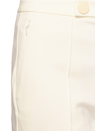 Detail View - Click To Enlarge - MO&CO. EDITION 10 - Tailored bell bottom flare pants