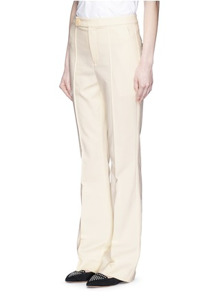 Front View - Click To Enlarge - MO&CO. EDITION 10 - Tailored bell bottom flare pants