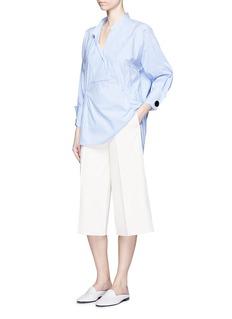 MO&CO. EDITION 10Stripe cotton blend shirt