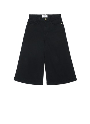 Main View - Click To Enlarge - Frame Denim - 'Le Gaucho' wide leg cropped jeans