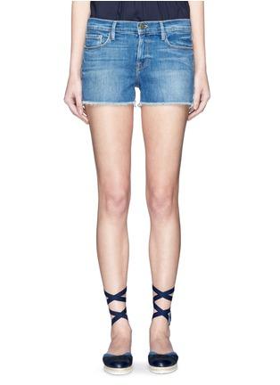 Detail View - Click To Enlarge - Frame Denim - 'Le Cutoff' denim shorts