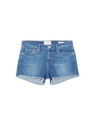Main View - Click To Enlarge - Frame Denim - 'Le Cutoff' denim shorts