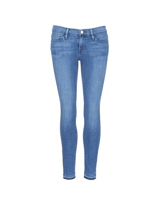 Main View - Click To Enlarge - Frame Denim - 'Le Skinny de Jeanne' cropped jeans