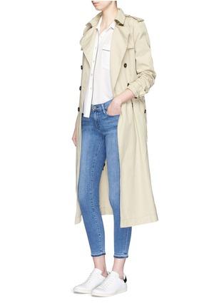 Figure View - Click To Enlarge - Frame Denim - 'Le Skinny de Jeanne' cropped jeans