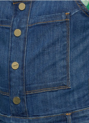 Detail View - Click To Enlarge - Frame Denim - 'Le High' denim overalls