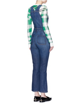 Back View - Click To Enlarge - Frame Denim - 'Le High' denim overalls