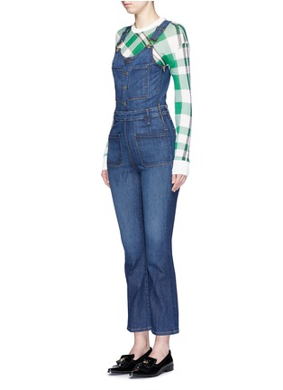 Front View - Click To Enlarge - Frame Denim - 'Le High' denim overalls