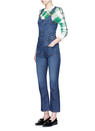 Figure View - Click To Enlarge - Frame Denim - 'Le High' denim overalls