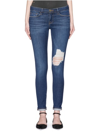 Detail View - Click To Enlarge - Frame Denim - 'Le Skinny De Jeanne' ripped skinny jeans