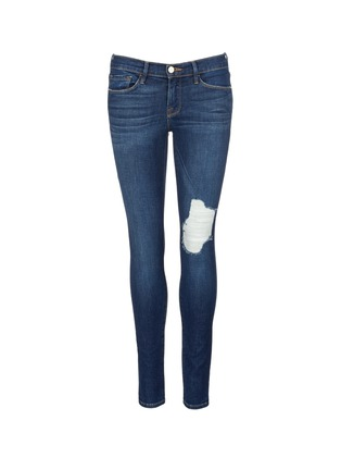 Main View - Click To Enlarge - Frame Denim - 'Le Skinny De Jeanne' ripped skinny jeans