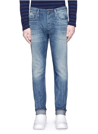 Detail View - Click To Enlarge - Denham - 'Razor' slim fit jeans