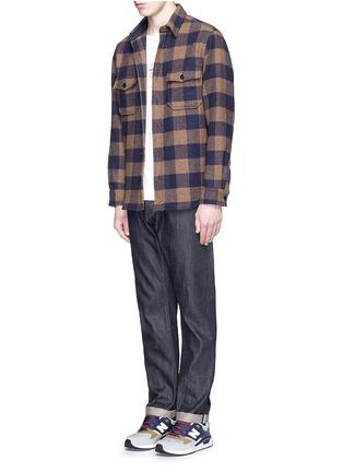 Figure View - Click To Enlarge - Denham - 'Razor' selvedge jeans
