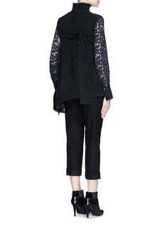 3.1 PHILLIP LIMFrayed edge wool blend sleeveless sweater