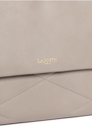 Detail View - Click To Enlarge - Lanvin - 'Sugar' medium quilted leather flap bag