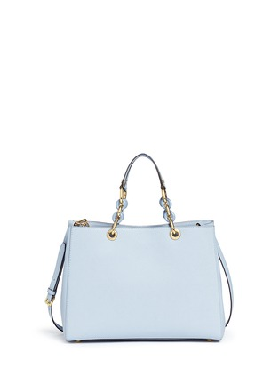 Back View - Click To Enlarge - Michael Kors - 'Cynthia' large saffiano leather satchel