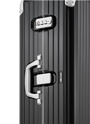 Detail View - Click To Enlarge - RIMOWA - Limbo Multiwheel® (Black, 83-litre)
