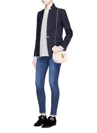 Figure View - Click To Enlarge - Frame Denim - 'Le Skinny de Jeanne' jeans