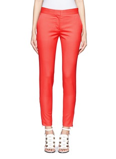 STELLA MCCARTNEY Zipped cuff wool pants