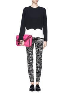 STELLA MCCARTNEYHeart print skinny jeans