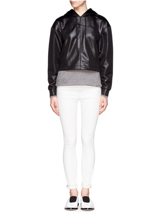 Figure View - Click To Enlarge - T By Alexander Wang - Classic pocket long-sleeve T-shirt