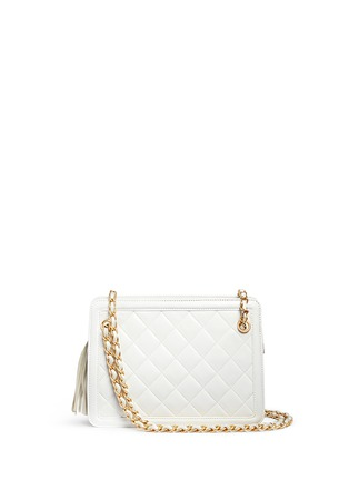 Main View - Click To Enlarge - Vintage Chanel - Tassel charm quilted leather bag