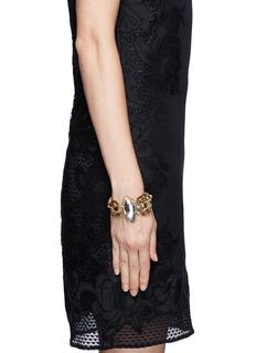 ERICKSON BEAMON'Heart of Gold' gauze bound crystal bracelet