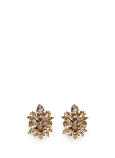 ERICKSON BEAMON'Temptress' crystal cluster earrings