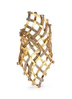 ERICKSON BEAMON'Heart of Gold' gauzy crystal cuff