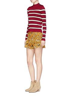 Isabel Marant Étoile'Devona' stripe button shoulder sweater