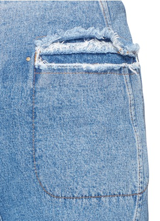 Detail View - Click To Enlarge - Esteban Cortazar - High waist flared denim pants