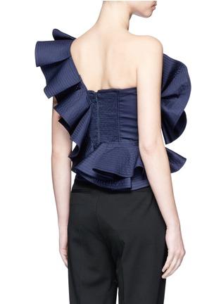 Back View - Click To Enlarge - Johanna Ortiz - 'Dama Danzante' ruffle one-shoulder top