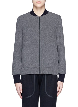 Main View - Click To Enlarge - Lndr - 'Scout' climate control felt bomber jacket