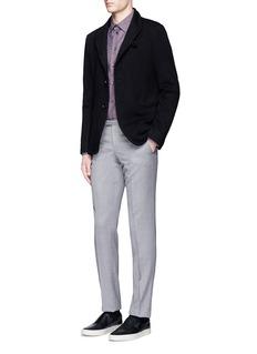 Armani CollezioniKnot cloqué knit soft blazer