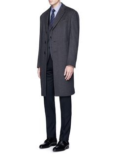 Armani CollezioniSlim fit wool pants