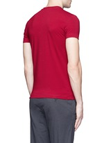 Slim fit cotton T-shirt