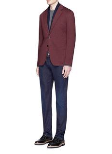 Armani CollezioniCotton blend soft blazer