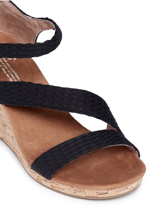 Detail View - Click To Enlarge -  - 'Clarissa' cork wedge sandals