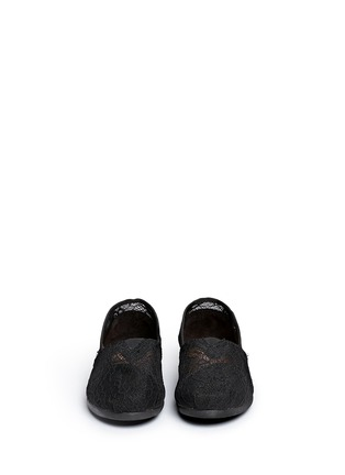 Front View - Click To Enlarge - 90294 - Classic lace slip-ons